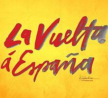 La Vuelta a Espana by finnllow