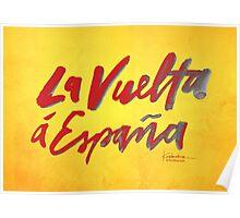 La Vuelta a Espana Poster