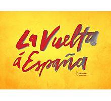 La Vuelta a Espana Photographic Print