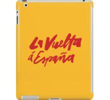 La Vuelta a Espana iPad Case/Skin