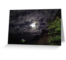 From light to light in the night Greeting Card