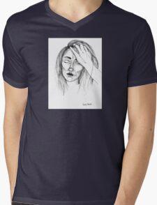 TAWNY DARKO T-shirt (Zoe Lennon) Mens V-Neck T-Shirt
