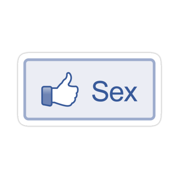 "Facebook ""Sex Button"" Shirt by likebutton"