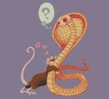 Rat Loves Snake T-Shirt