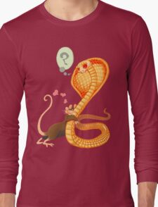 Rat Loves Snake Long Sleeve T-Shirt