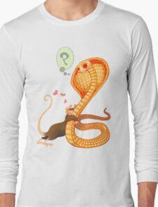 Rat Loves Snake Long Sleeve T-Shirt