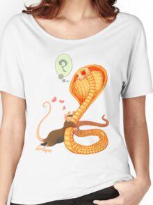 Rat Loves Snake Women's Relaxed Fit T-Shirt