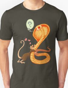 Rat Loves Snake Unisex T-Shirt