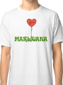 I Love Marijuana Classic T-Shirt