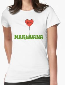 I Love Marijuana T-Shirt