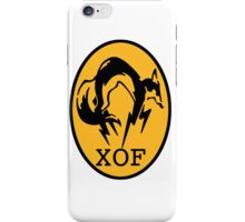 "MGS - ""XOF"" Logo iPhone Case/Skin"