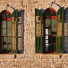 Church Windows by Susan Russell