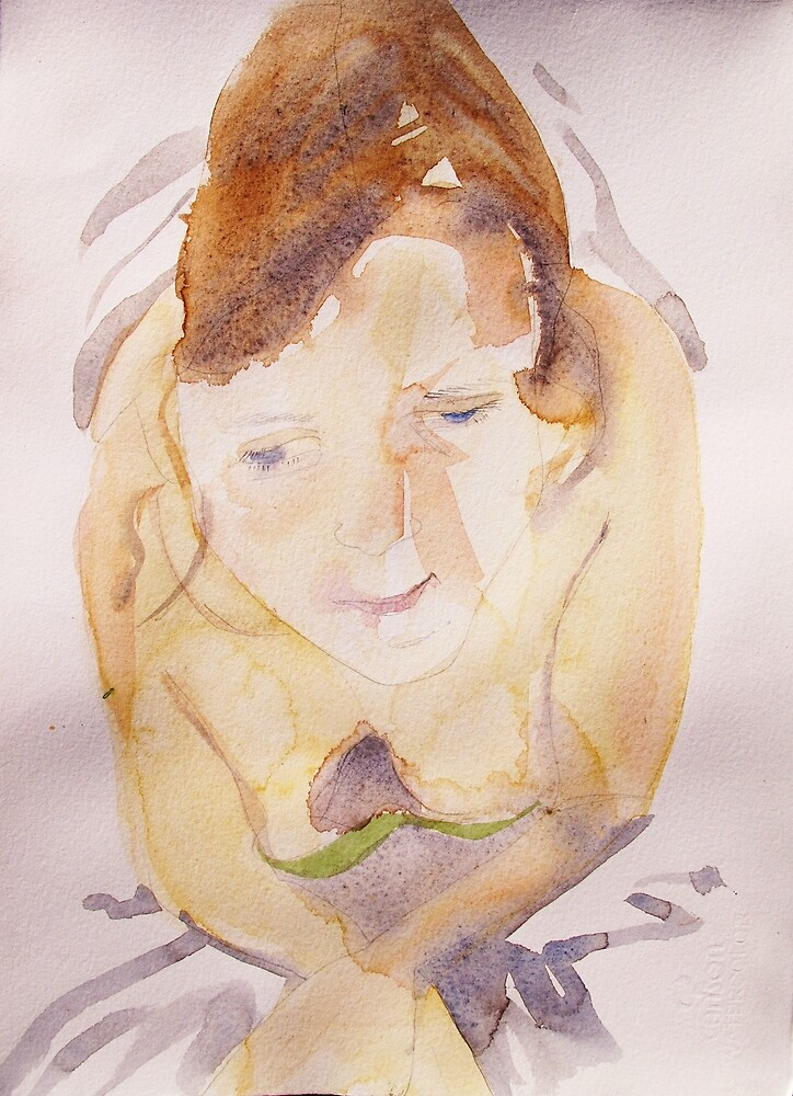 portrait of an unknown girl 2 by donna malone