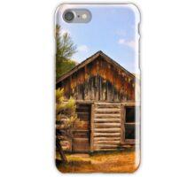 Ghost Cabin In Bannack iPhone Case/Skin
