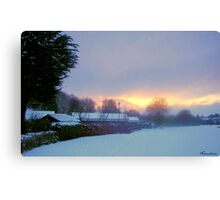 Welcoming In Christmas! Canvas Print