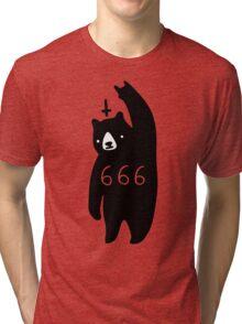 Black Bear Metal Tri-blend T-Shirt