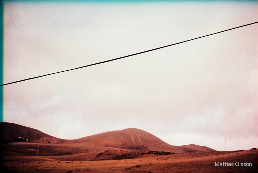 Lanzarote volcano landscape by Mattias Olsson