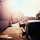Street in the sunshine by Mattias Olsson