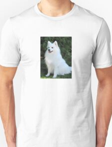 Snow White Spitz Unisex T-Shirt