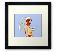 My Umbrella Framed Print