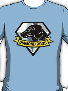 "MGS - ""Diamond Dogs"" Logo T-Shirt"