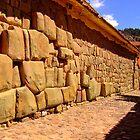 Inca stones by Constanza Caiceo