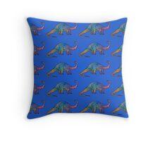 Dinosaur Brontosaurus 5L Throw Pillow