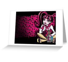 Draculaura Greeting Card