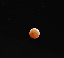 Full Lunar Eclipse by Corkle