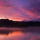 Paradise sunset by Paul Mercer