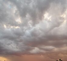 Sunset and Storm by Allegra Brookey