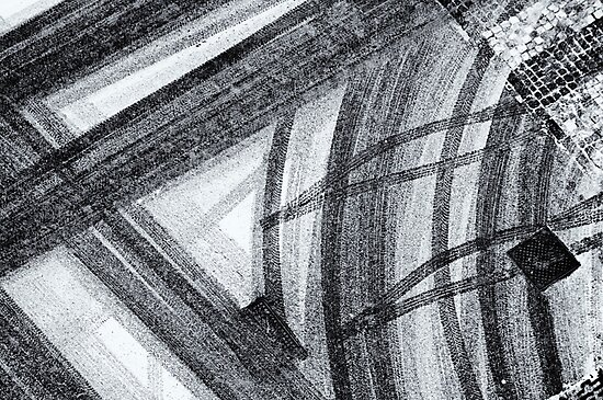 Snow abstract by Silvia Ganora