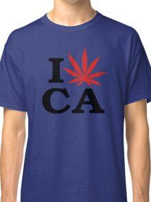 I Love Marijuana Canada Classic T-Shirt