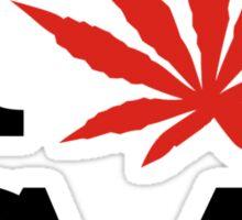 I Love Marijuana Canada Sticker