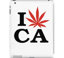 I Love Marijuana Canada iPad Case/Skin