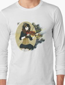 Violin Enamor Long Sleeve T-Shirt