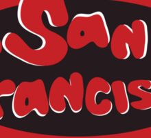 San Francisco - City Bumper Sticker