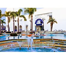 Oceanside California Library Photographic Print