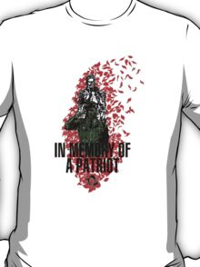 "MGS - ""In Memory Of Patriot"" T-Shirt"