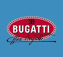Classic Car Logos: Automobiles Ettore Bugatti (signature) by brookestead