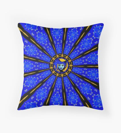 Betsy in Pattern Throw Pillow
