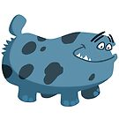 Look out! Poochosaurus! by Hackers