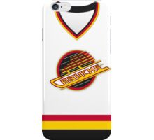 Vancouver Canucks 1989-97 Home Jersey iPhone Case/Skin