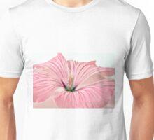 Lavatera Blossom With Rain Drops Unisex T-Shirt
