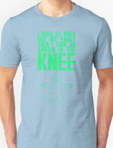 Vault Boy - Knee (ENG) - Green Unisex T-Shirt