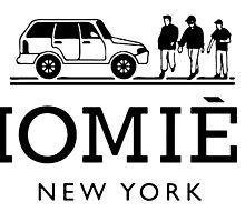 Homies, New York by AkioOfficial
