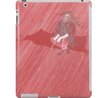 .. den roten Faden spinnen iPad Case/Skin