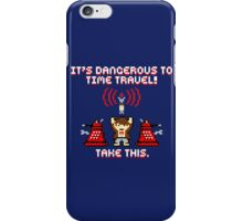 Doctor Who 8Bit iPhone Case/Skin
