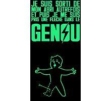 Vault Boy - Genou (FR) - Vert Photographic Print