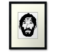Lee Scratch Perry Reggae Stencil Framed Print